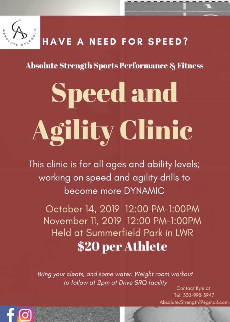 speed clinic flyer