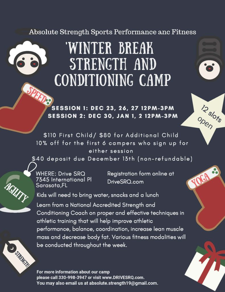 'winter break strength and conditioning camp